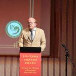 Prof. Dr. Ralph Kauz beim chinesischen Frühlingsfest 2019